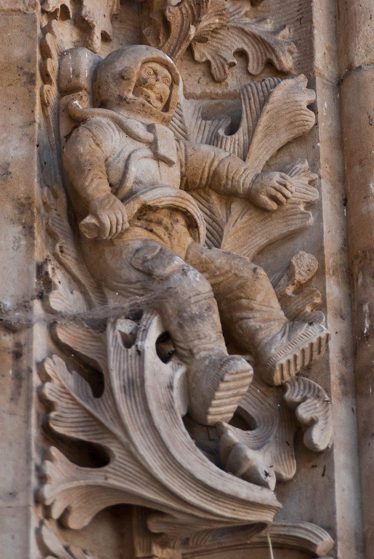 Misterul astronautului de pe catedrala medievală din Salamanca
