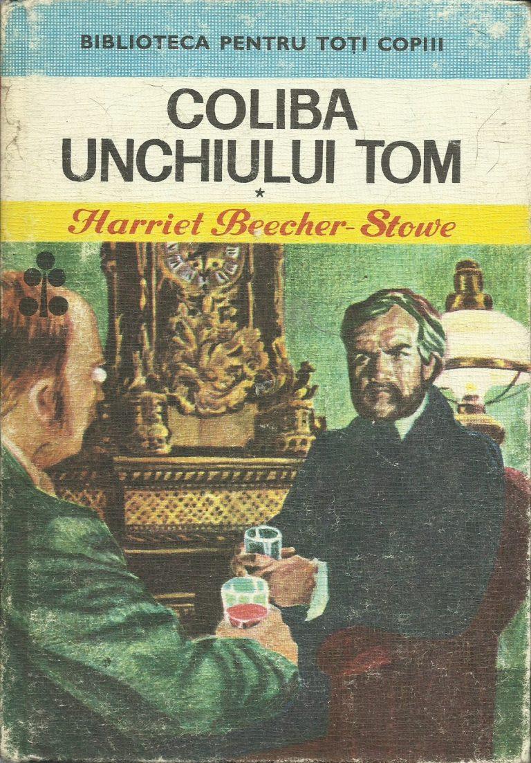 Coliba lui Moșu Toma și Bordeiulu unchiului Tom, două traduceri apărute la Iași în 1853. Ilustrațiile originale în articol