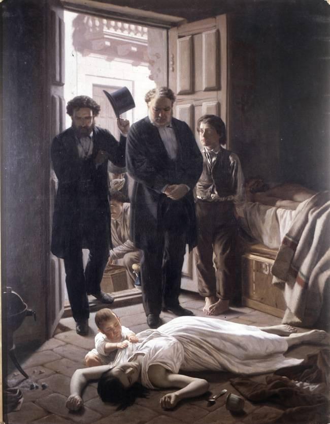 Soarta tragică a medicilor care intră într-o încăpere unde o familie este răpusă de epidemie