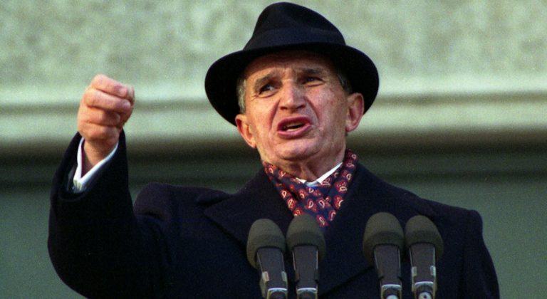 """În 1989, Nicolae Ceauşescu acuza fasciştii că vor """"să oprească construcția socialismului în România"""""""