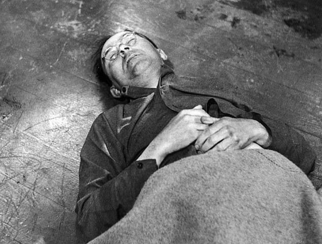 Actul de identitate fals cu care Himmler a încercat să fugă din Germania, în articol