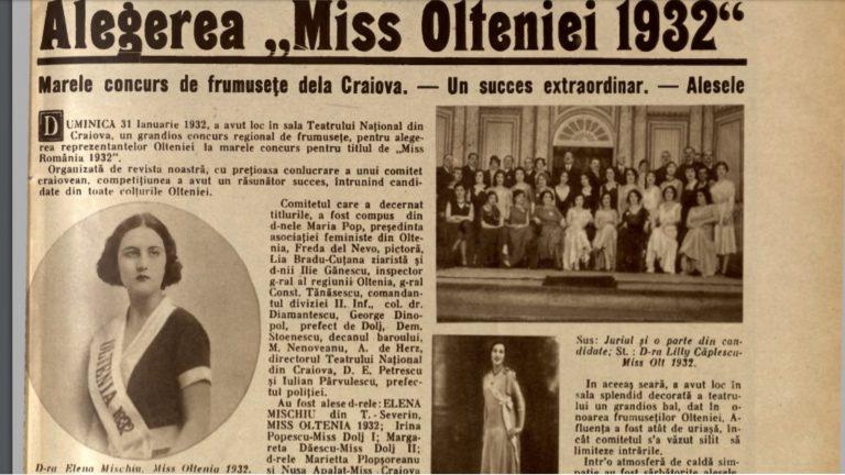 Cele mai frumoase oltence de la 1932