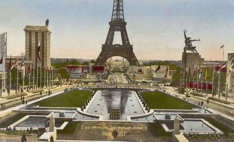 Marea întrecere socialistă din 1937 de la Paris dintre Stalin și Hitler. Istorie în imagini