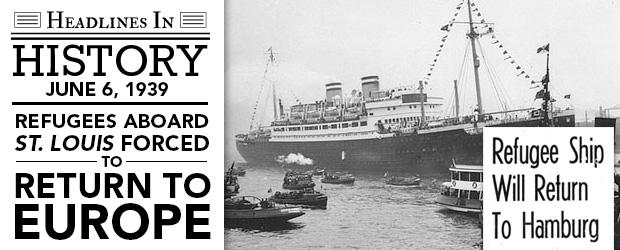 SUA, Canada și Cuba resping 900 de evrei fugiți din Germania nazistă