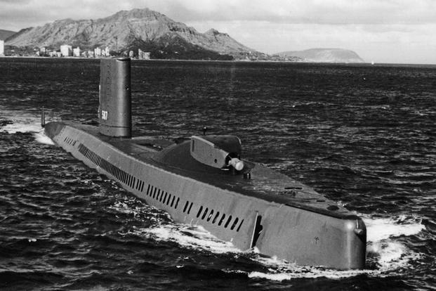 Submarinul american se ocupă de cablurile sovietice ascunse