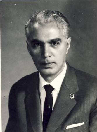 Tov. Academician Miron Nicolescu de la prim început s-a încadrat în regimul democrat popular. Din Arhiva CC al PCR