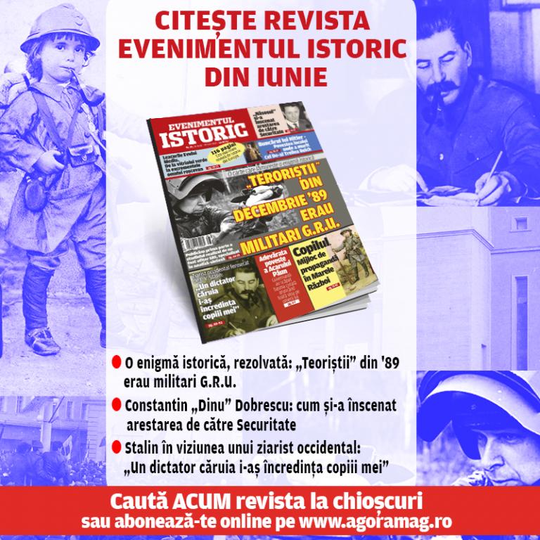 """O mare enigmă istorică, rezolvată: """"Teroriștii"""" din decembrie 89 erau militari G.R.U! Află detalii exclusive din revista Evenimentul Istoric, numărul din iunie!"""