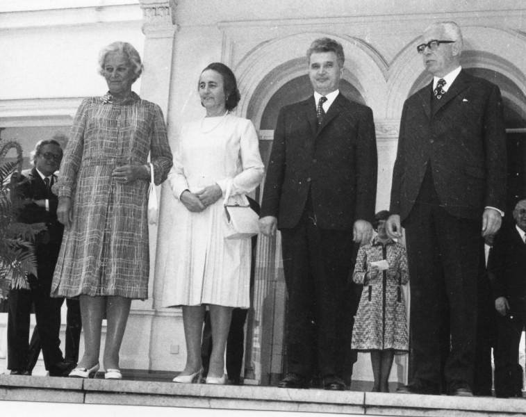 Nicu Ceaușescu strică vizita oficială din 1973 în RFG a părinților săi. Documente