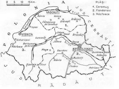 Totul despre Storojineț, județul pierdut al României Mari
