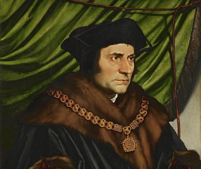 Făcut protectorul politicienilor de Papă, ne-a explicat, înainte de a fi decapitat,  cum e cu Utopia