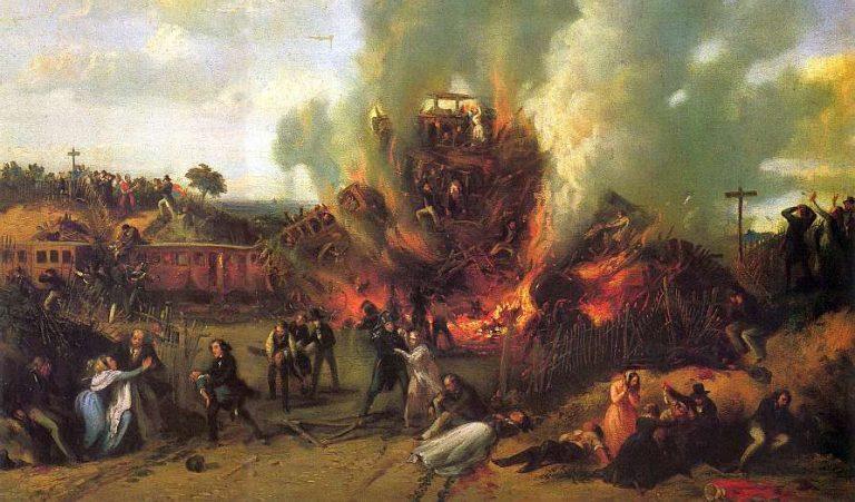 Accidentul de la Versailles – prima mare catastrofă feroviară din istorie – și efectul lui asupra faimei inginerului Rankine, născut pe 5 iulie