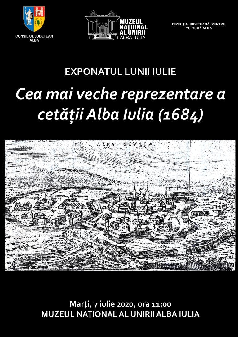 Cea mai veche reprezentare a cetății Alba Iulia