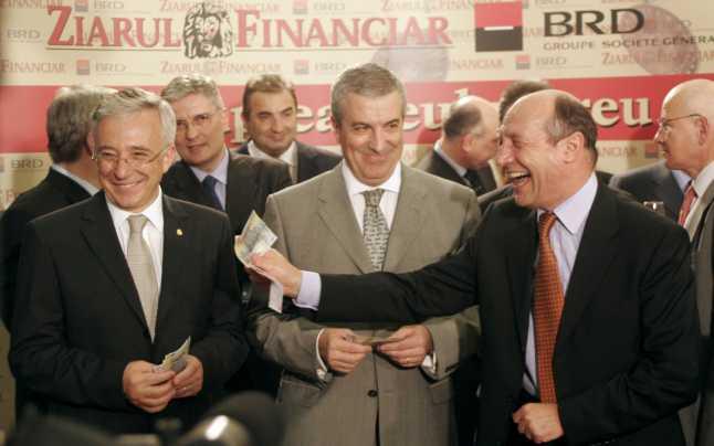 Când Băsescu a pus mâna pe primul leu greu