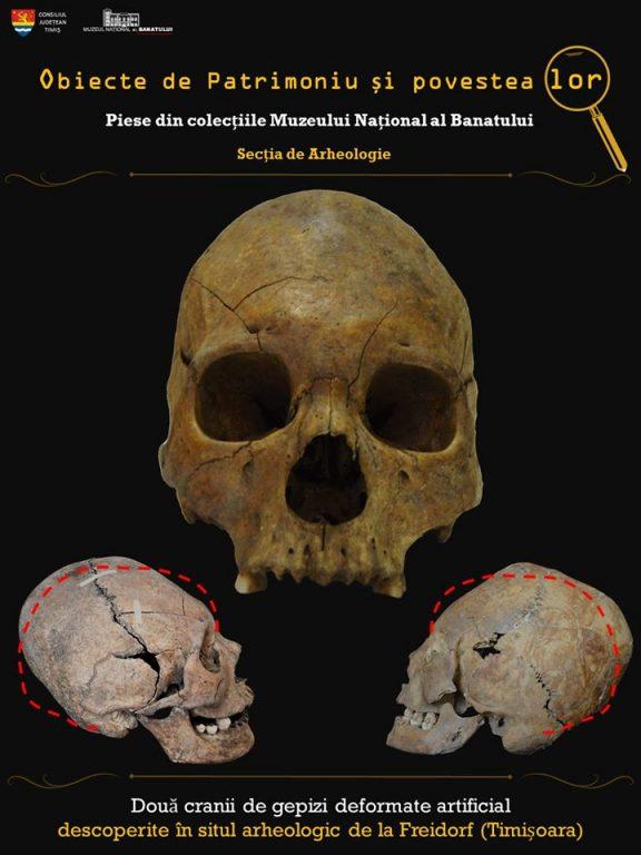 Deformarea artificială a craniilor datează din cele mai vechi timpuri. Cum se făcea