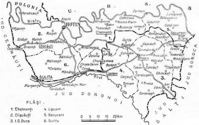 Ștefan cel Mare își pusese unchiul administrator al Cetății Hotinului. România pierdută. Județul Hotin în cifre
