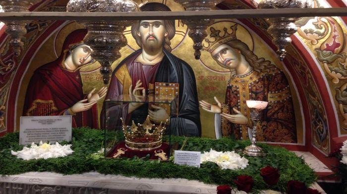Prefacerea de la mormântul lui Ștefan cel Mare