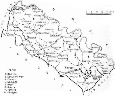 Ținutul arcașilor soroceni la 1937. Soroca, județul pierdut de la Nistru al României Mari
