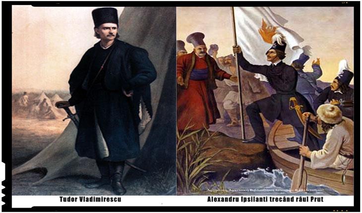 Ipsilante – Mână de Argint și Maiorescu – Deget de Aur îl ucid pe Domnul Tudorin și-l aruncă în privata Mitropoliei Târgoviște