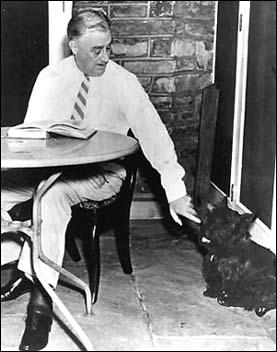 Președintele Franklin D. Roosevelt își apără cățelul atacat de republicani. Cine a fost Fala – Informatorul