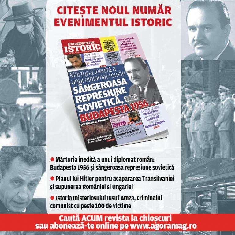 Diplomat român, martor la represiunea sângeroasă a revoltei anti-comuniste de la Budapesta. Mărturia șocantă apare în noul număr al Evenimentului Istoric