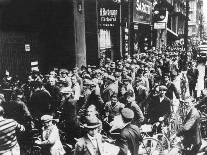Reapariția trocului în SUA. Americanii în Marea Criză