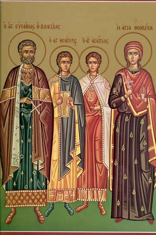 Generalul lui Traian devenit Sfântul Eustatie este prăznuit astăzi