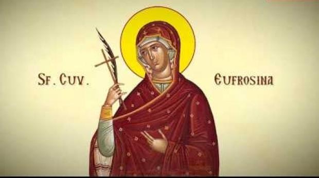 Azi o pomenim pe Sfânta din mănăstirea de monahi