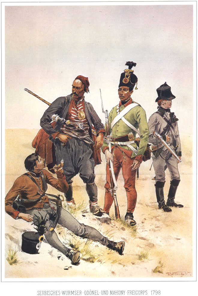 Armata de mercenari înființată de Frederick cel Mare la 1759 se bate cu Napoleon, dar se predă de bună voie lui Hitler. Era sfârșitul