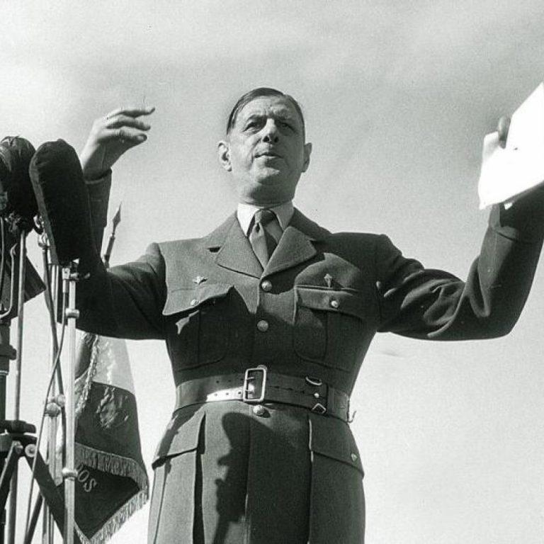 Viața unui om imens în mai puțin de 1000 de cuvinte: Charles de Gaulle