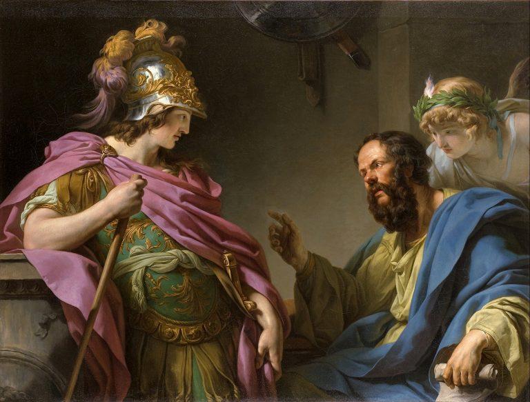 Iubitul cel frumos, șiret și năbădăios al lui Socrate i-a jucat pe toți pe degete