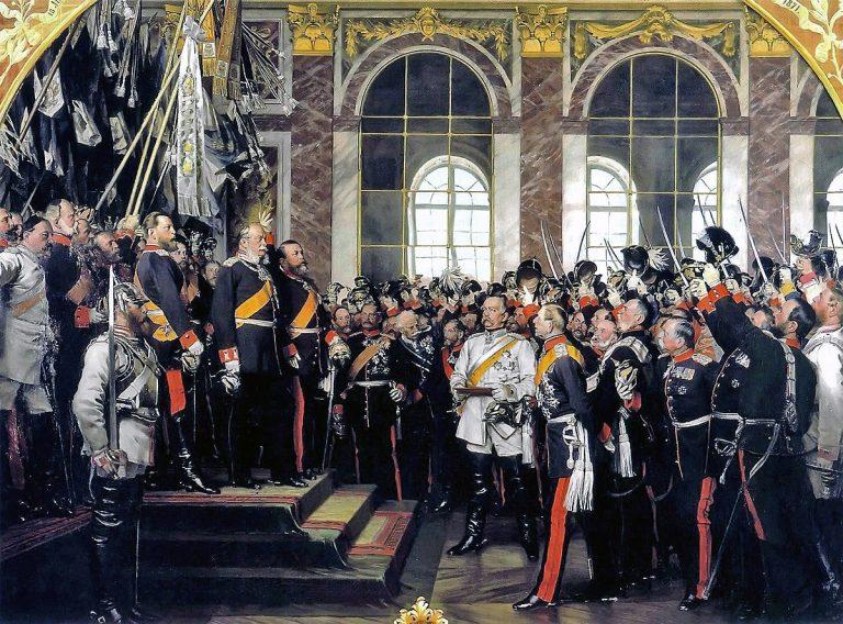 De ce Al Doilea Reich a fost proclamat în Franța