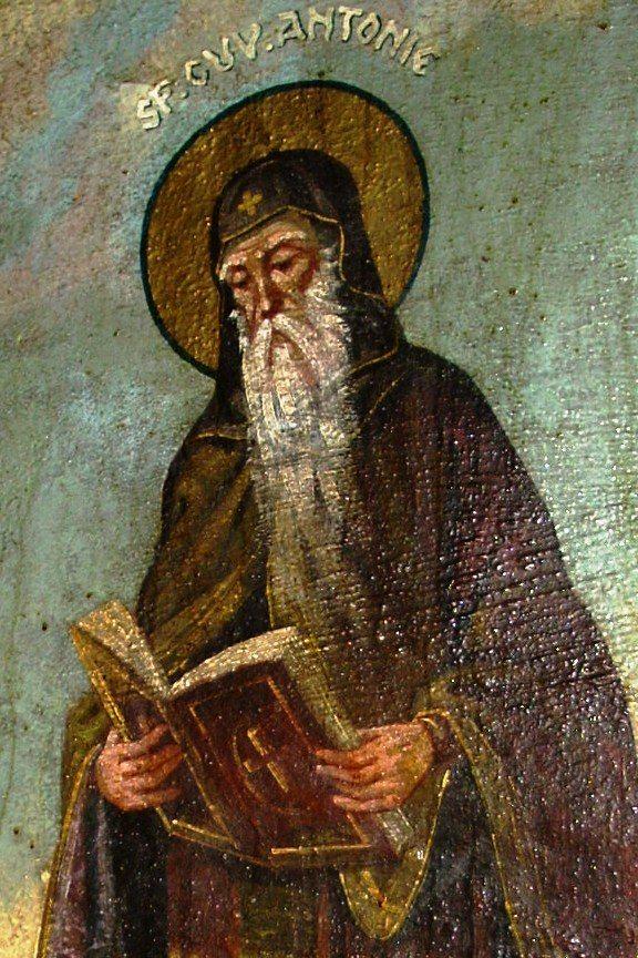 Povața Sfântului Antonie către ucenicii săi:  Nici o împărtășire să nu aveți cu schismaticii, nici cu ereticii arieni
