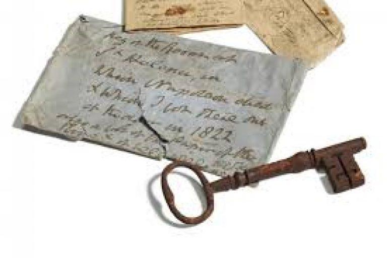 Odiseea ajungerii în Scoția a cheiei de la camera în care a murit Napoleon. Cât costă s-o ai