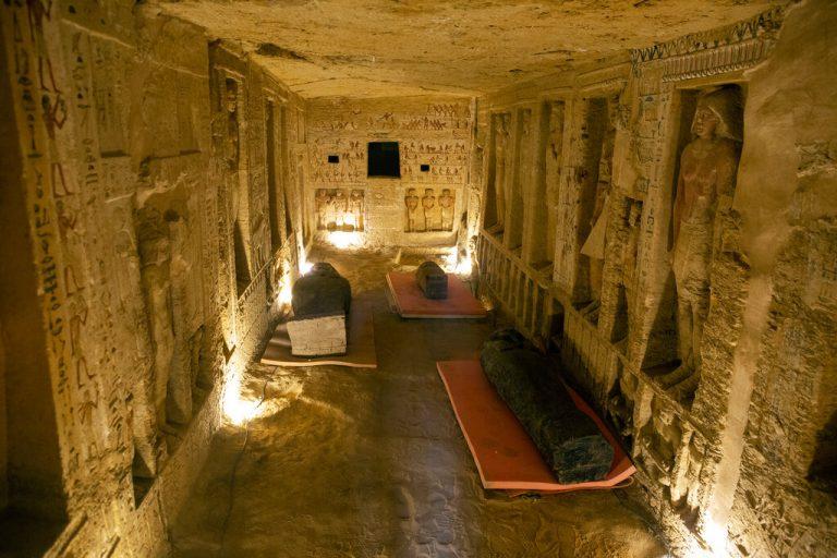 Ultima descoprire din Egipt rescrie istoria Saqqara şi a Noului Regat