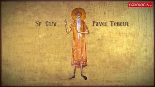 Atât de mult cinstea haina Sfântului Pavel Tebeul încât numai de două ori pe an se îmbrăca cu ea