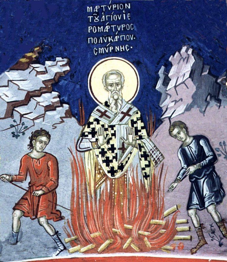 Sfântul născut în temniță și ars de viu la 86 de ani