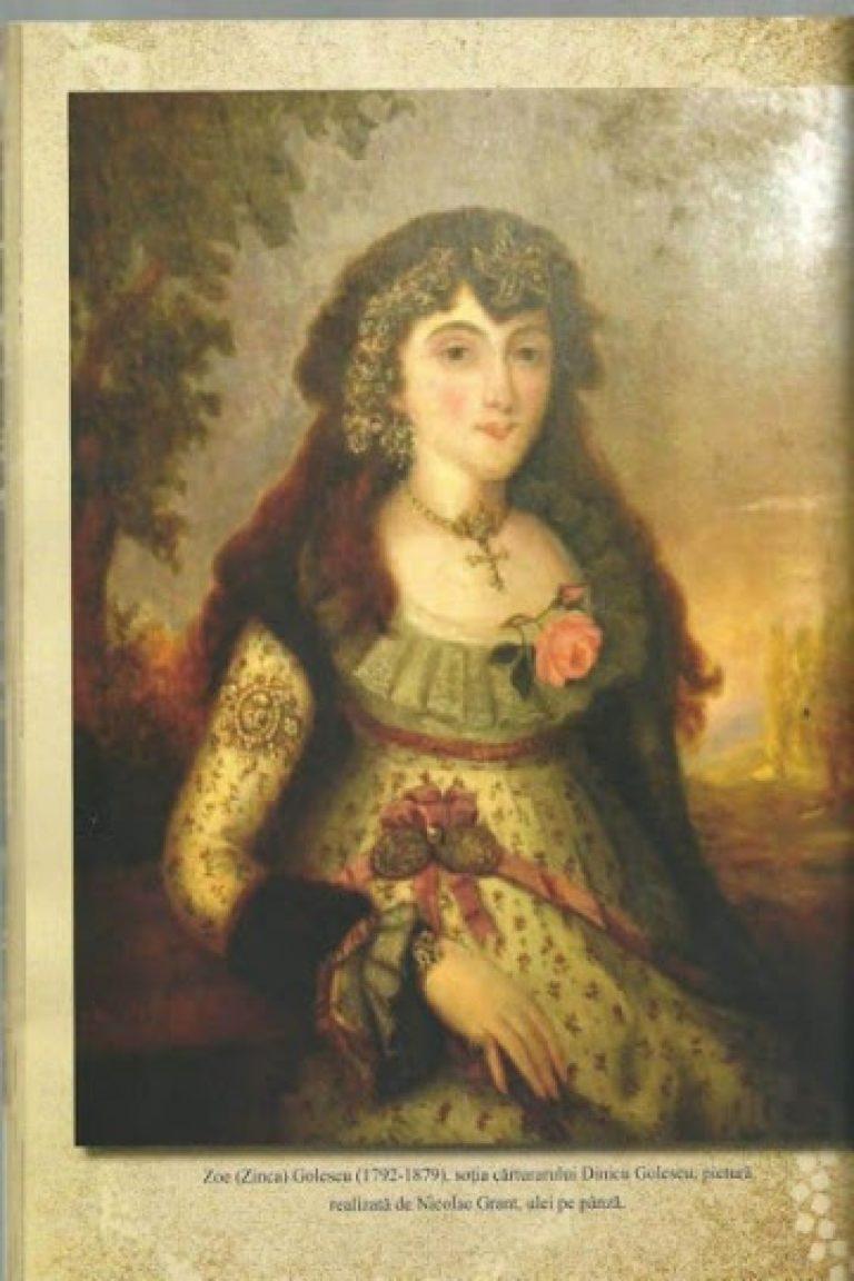 Zoe Golescu se revoltă împotriva cenzurii impuse de ruși după 1848