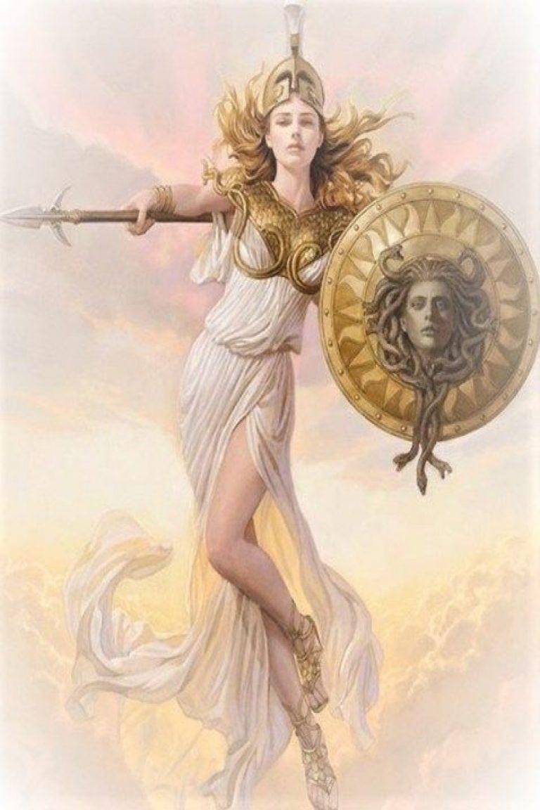 Atena, zeița olimpiană căreia și azi îi poartă numele capitala Greciei