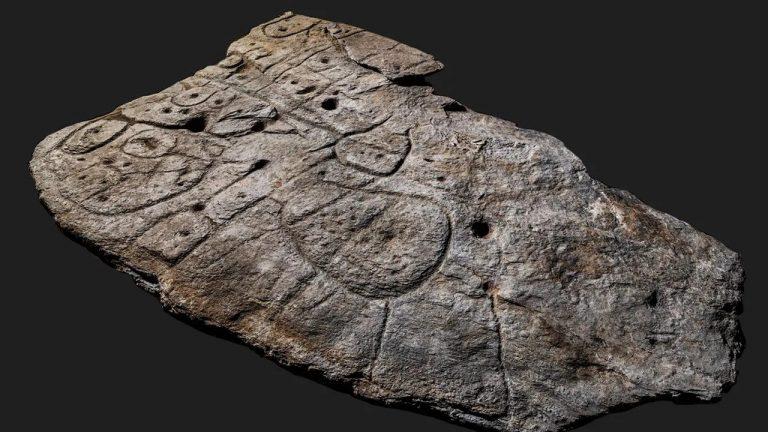 A fost descoperită cea mai veche hartă din Europa