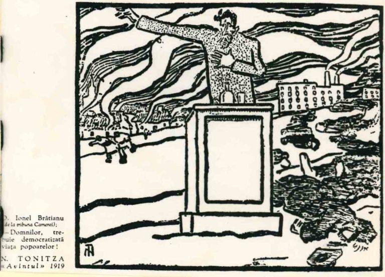 Să facem cunoștință cu Nicolae Tonitza, caricaturistul socialist