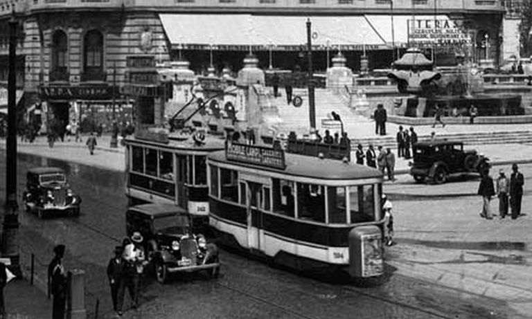 Prin tramvaiele din București în primăvara anului 1946