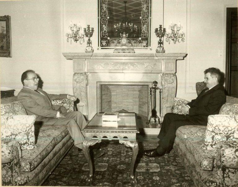 Sergiu Celac, diplomatul care l-a înfruntat pe Ceauşescu